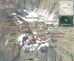 carte du kilimandjaro
