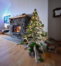 Vianočný stromček z dreva Christmas Tree, Holiday Decor, Home Decor, Projects, Teal Christmas Tree, Decoration Home, Room Decor, Xmas Trees, Christmas Trees