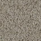 Carpet Sample - Trendy Threads II - Color Lakeview Texture 8 in. x 8 in., Beige/Ivory