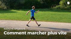 Comment marcher plus vite ? | Marche sportive - YouTube