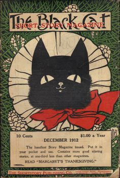 The Black Cat Short Story Magazine, December 1912