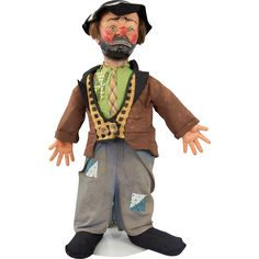1950s Emmett Kelly Willie the Clown Doll Baby Barry Toys NYC