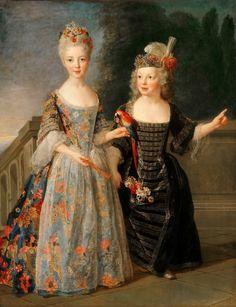 1710s Alexis Simon Belle - Catherine-Eleonore de Bethisy and her Brother