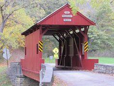 Covered Bridges at Mingo Creek Park, Washington County, PA | Interesting Pennsylvania and Beyond