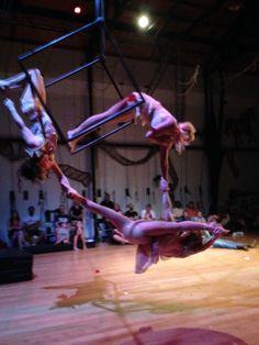Aerial Cube Trio, Canopy Studio 2014