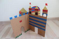 #diy #cardboard #castle #children #ideas