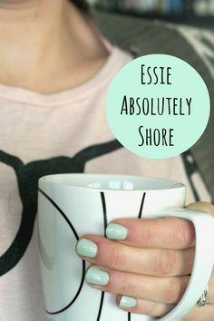 Essie Absolutely Shore @Amanda Snelson Snelson Snelson Schoenfelder