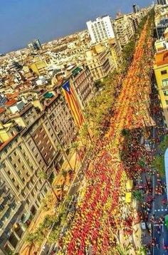La Diada 2014!  (by Daniel Martínez) Fantastic tours and trips all around Barcelona and its surrounding areas, all over Catalonia, so that you can come to know better this fantastic land. +34 664806309 VIKTORIA  https://www.facebook.com/pages/Barcelona-Land/603298383116598?ref=hl