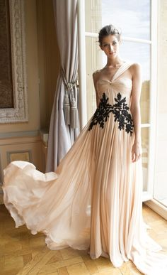 Zuhair Murad Couture One Shoulder Empire Waist Chiffon Long Party Evening Dresses Custom Made New Arrival Zuhair Murad, Evening Dresses, Prom Dresses, Wedding Dresses, Dress Prom, Party Dress, Dresses 2016, Graduation Dresses, Fall Dresses