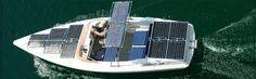 With the aquawatt 550 solar boat go with pure solar power.
