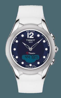 Tissot Women s T-Touch Lady Solar Watch Sport Watches fc8d67937