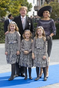 Pin for Later: There's No Doubt These Royal Families Make the Best Dressed List For Every Occasion Netherlands Royal Family