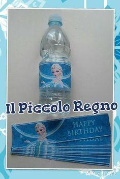 Etichette per acqua Frozen