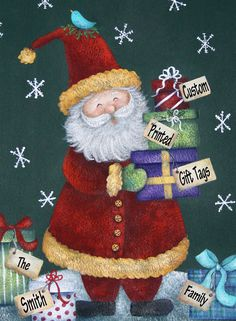 Personalized Christmas Gift Our Best Selling by BethStephensArt