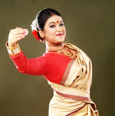 BIHU. The Folk Dance of Assam. This joyous dance is performed by both young men and women, and is characterized by brisk dance steps,and rapid hand movement. Dancers wear traditionally colorful Assamese clothing. Though the origins of the Bihu dance is unknown, the first official endorsement is cited to be when Ahom king Rudra Singha invited Bihu dancers to perform at the Ranghar fields sometime around 1694 on the occasion of Rongali Bihu.