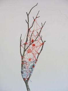 Tangled twig - dreamcatcher #flickstackr  Flickr: http://flic.kr/p/fGd1aL