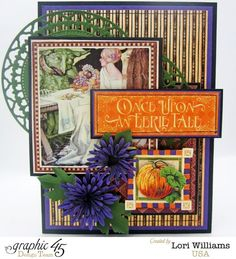 Brilliant An Eerie Tale card by Lori Williams #graphic45 #cards