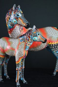 Artist Adam Thomas Rees featured on The Polymer Arts magazine's blog