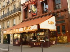 Brasserie Lipp, Paris, France