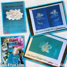Eric Carle Little Cloud Inspired Art & Activities - PreK4Fun