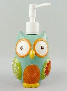 Give a Hoot Soap Dispenser