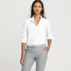 fave white shirt, french cuffs - buy in multiples on sale