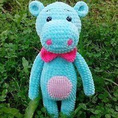 Hippo amigurumi haak