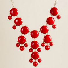 red dot necklace