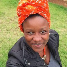 Gloomy Day... But Happy Princess  #GodisGood #baskinginhisglory #slayingmyday #princessofee #GodPreneuer #headwrap #headscarf #tuku in fleek
