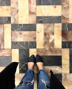 "133 Likes, 4 Comments - Desanka LUX / EROS (@lux_eros) on Instagram: ""#ihaveathingwithfloors who else but @kitchykitchen would have an outside patio with a floor as chic…"""
