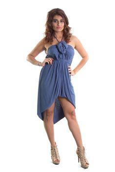 Ellie Mei Women's Multiple Ways To Wear Magical  Dress .Wrap Dress .  KHL-EM7 INFINITY