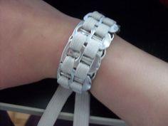 Can Tab Shoelace Bracelet #bracelet