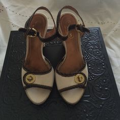 Vintage COACH shoes Vintage coach shoes! Super cute has some wearing on the soles a bit. Other than that they are very stylish and wearable! Coach Shoes