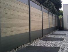 moderner Garten von Deck-linéa
