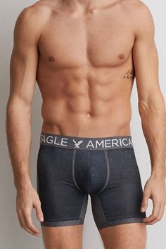 "American Eagle Outfitters AEO Solid 6"" Flex Trunk"