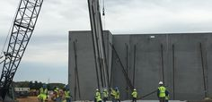 Matan Companies and Morgan-Keller Construction Tilt-Up Wall Braces LIG Forming & Shoring, LLC