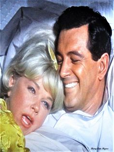 Rock Hudson & Doris Day  In The Movie Send Me No Flowers =1964 Picture By Mary Ann Myers
