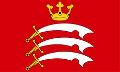 Premium Quality X Flag Middlesex England English County by Retail Zone. Premium Quality X Flag Middlesex England English County. National Symbols, National Flag, Middlesex England, County Flags, Uk Area, Flag Country, Uk Flag, Flag Design, At Home Gym