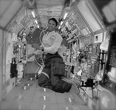 Dr. Mae C. Jemison, the first Black woman to travel in space, was born in Decatur, AL, on this October 17, 1956