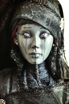 Купить Ведьма. Эксклюзивная коллекционная кукла ручной работы в интернет магазине на Ярмарке Мастеров