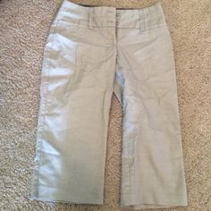 Work capris These are long for me Maurice's Capri work pants like new Maurices Pants Capris