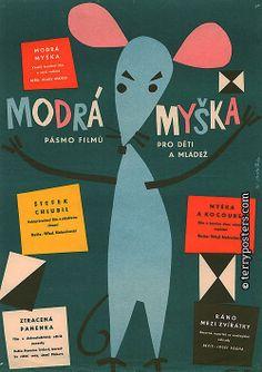 Vodák, Karel | From the beginning of the 60's artistic drawn posters were originating for short animated films for children. They accompanied the great period of the world-acclaimed Czechoslovakian school of animated film (Jiří Trnka, Karel Zeman, Břetislav Pojar, Krtek. Medvědi od Kolína).