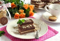 Juditka konyhája: ~ PILÓTA KEKSZ SZELET ~ Individual Cakes, Nutella, Tiramisu, Ethnic Recipes, Food, Essen, Meals, Tiramisu Cake, Yemek