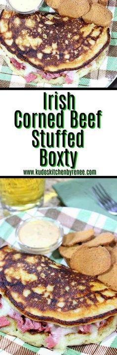 Irish Stuffed Corned