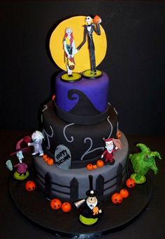the nightmare before christmas cake | Phoenix Freeze