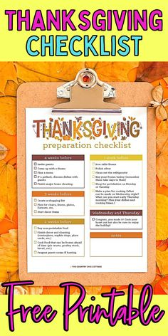How to get ready for Thanksgiving. Tips for prepping for Thanksgiving. How to plan for the holidays. Fall Cleaning Checklist, Non Perishable Foods, Frozen Turkey, I Fall, No Cook Meals, Clean House, Washington Dc, Free Printables, Prepping