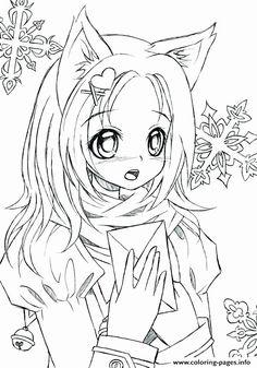 316 best anime manga kawaii coloring