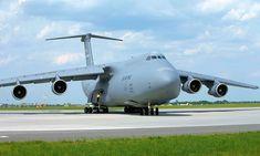 Lockheed Galaxy - Großraumflugzeug für die U. Military Jets, Military Aircraft, Lockheed C-5 Galaxy, Air Fighter, Fighter Jets, C 5 Galaxy, Air Force, Cargo Transport, Cargo Aircraft