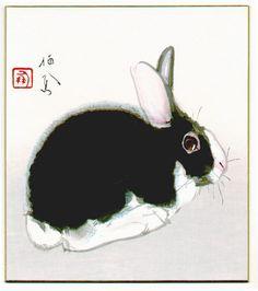 Takeuchi Seiho (1864-1942) - Rabbit