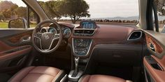The Buick Encore is a compact luxury SUV interior photo. Buick Cars, Buick Gmc, Ford Mustang, Grand National Gnx, 2015 Buick, Luxury Crossovers, Suv Models, Buick Lacrosse, Crossover Suv